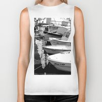 boats Biker Tanks featuring boats by habish