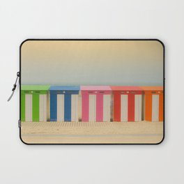 Beach cabins Malo Laptop Sleeve