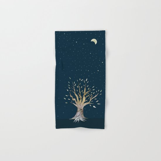 Moonlit Tree Hand & Bath Towel