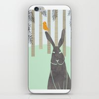 rabbit iPhone & iPod Skins featuring Rabbit by Dream Of Forest