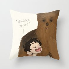 Wookiee Throw Pillow