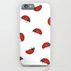Ladybug Pattern iPhone 6s Slim Case