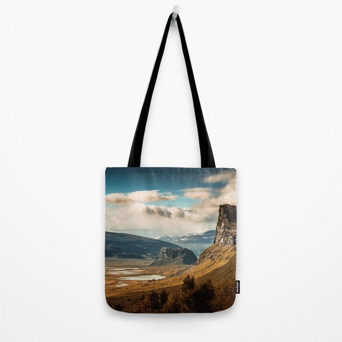 Brown Mountain Tote Bag
