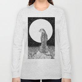 Cheetah Moon Long Sleeve T-shirt
