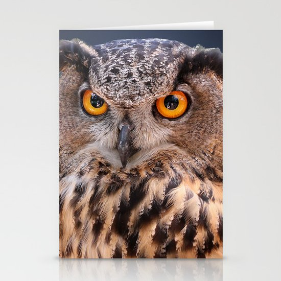 Eagle Owl Note Card