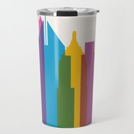 Shapes of Pittsburgh. Accurate to scale Travel Mug