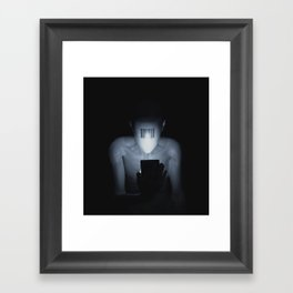 Addiction Framed Art Print