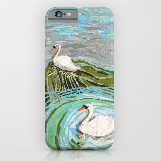 Two Swans iPhone & iPod Case