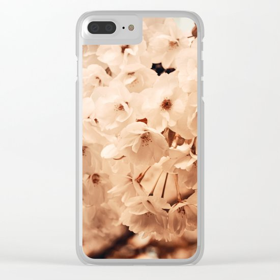 Hello Spring #7 Clear iPhone Case