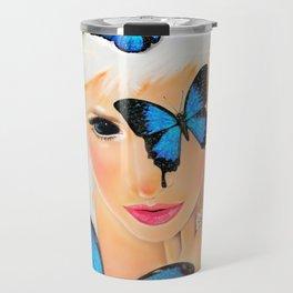 Fluttery 1 Travel Mug