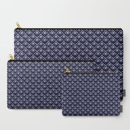 Blue Fish Eye Carry-All Pouch