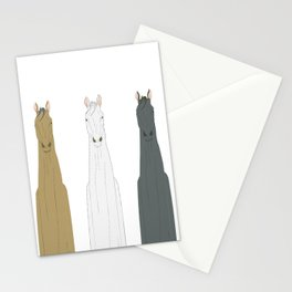 Triple Horses Stationery Cards