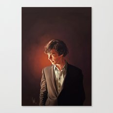 The Detective - Sherlock Canvas Print