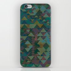 Delta Tribe - Green iPhone & iPod Skin