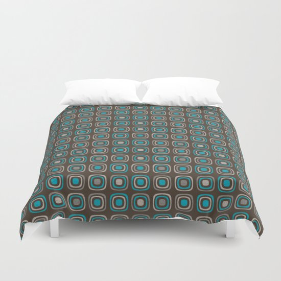 Pattern blue azul 6 Duvet Cover