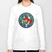 ariel Long Sleeve T-shirts featuring Ariel by Mazuki Arts