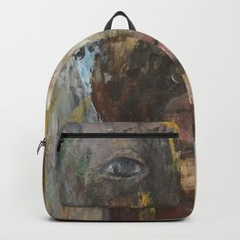 looking through Backpack