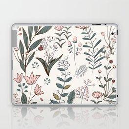 Winter Flowers II Laptop & iPad Skin