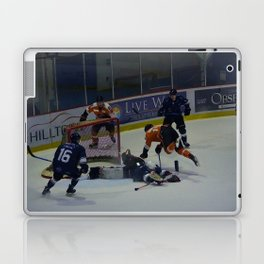 Dive for the Goal - Ice Hockey Laptop & iPad Skin