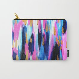 Spring Golden - Pink and Navy Abstract Tasche
