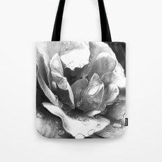Morning Rose - greyscale version Tote Bag
