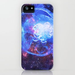 MEDUZA IN SPACE iPhone Case