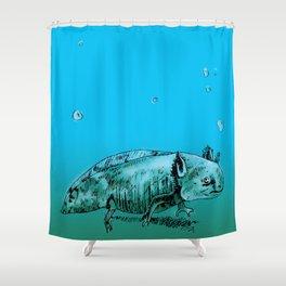 Axolotl 2 Shower Curtain
