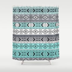 Indian Pattern I Shower Curtain