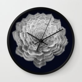 Succulents collage 2 Wall Clock