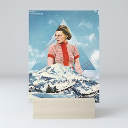 Cold Mini Art Print