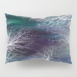 Midnight Purple Teal Pillow Sham