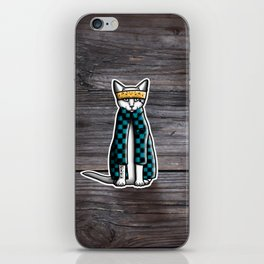Gato Cholo - Kitty Cat iPhone Skin