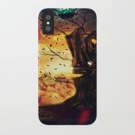 The Last Autumn iPhone Case