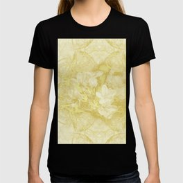 Secret garden in gold T-shirt