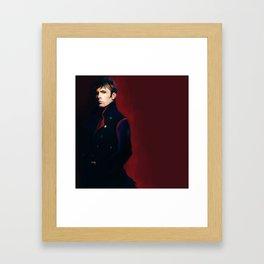 test Framed Art Print