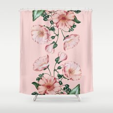 Calandrinia Shower Curtain