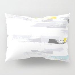 Abstract Brush Strokes Pillow Sham