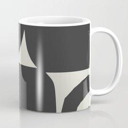 Black and grey abstract Coffee Mug