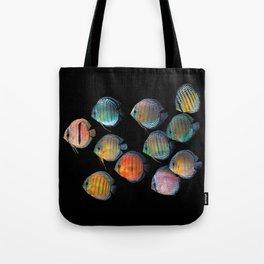 Wild discus fish Tote Bag