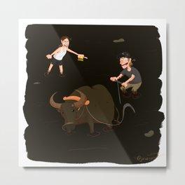 The Amazing Race 5 - My Ox is Broken (Alternate) Metal Print