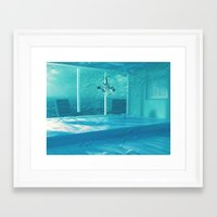 home alone Framed Art Prints featuring Home Alone  by Falsework
