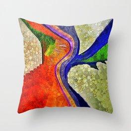 Flamenco Throw Pillow