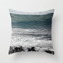 Wave you later Throw Pillow