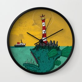 Subterfuge Wall Clock