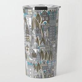 aluminium city Travel Mug