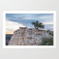Sunset at North Rim, Grand Canyon National Park Art Print