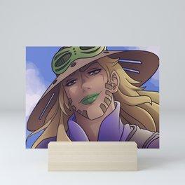 Italian Cowboy Man Mini Art Print