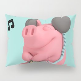 Rosa the Pig WalkMan Pillow Sham
