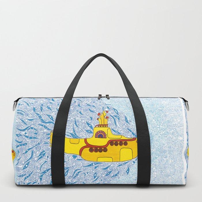 My Yellow Submarine Duffle Bag