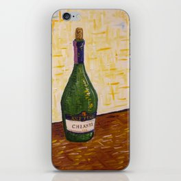 Still Life with Chianti Bottle iPhone Skin